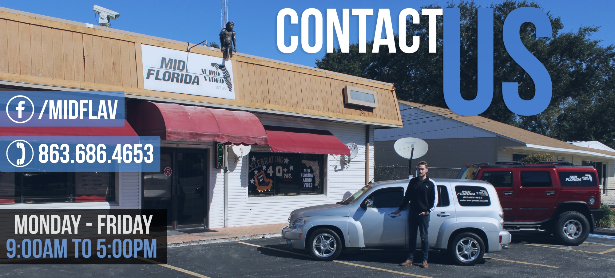 Contact Mid Florida Audio & Video