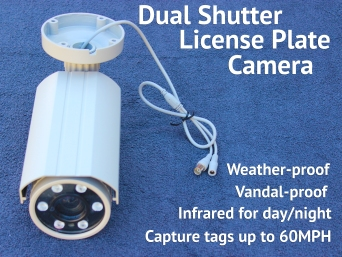 License Plate Security Camera